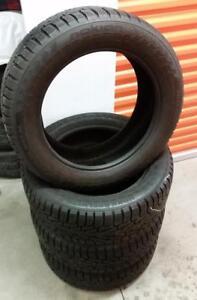 (H238) Pneus Hiver - Winter Tires 235-55-18 Nokian 11/32