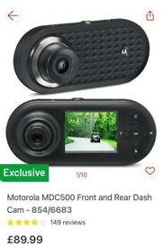New Front and back dashcam