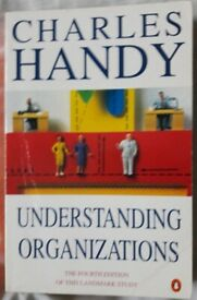 Understanding Organizations books/book – post or collect