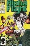 Marvel Comics - Alpha Flight # 51 (Jim Lee)