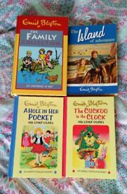 Bundle of Kids Books - Enid Blyton Hardbacks and Paperback - 4 Books