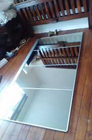 king size bed dark wood a bargin