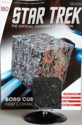 Star Trek Starships Collection #180 Borg Cube Eaglemoss English Magazine