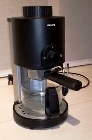 Krups Espresso/Cappuccino Coffee Machine with frother. Can deliver locally