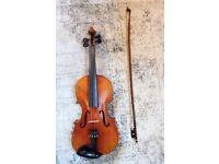 Antique Stradivarius copy violin 4/4