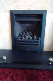 Gas fire inset