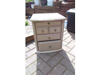 Two tone stressed drawers