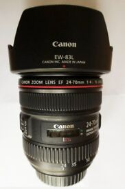 Canon 24-70mm F4 L Series Lens