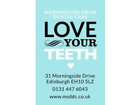 Qualified Dental Nurse wanted for Private Practice in Morningside