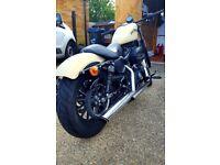 Matt Beige 883 Iron Harley Davidson