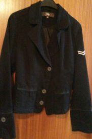 Womens Military Style Corporal Jacket, Size 40 (UK 10-12)