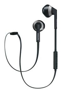 Philips MyJam FreshTones In-Ear Wireless Headphones (SHB5250) - Black