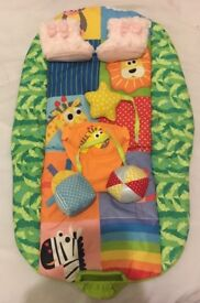 Baby bouncer , Moses basket clothes and shoes