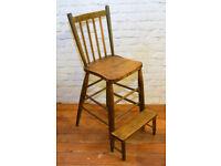 Stunning Clerk victorian antique elm chair vintage industrial vintage kitchen 1800s arts and crafts
