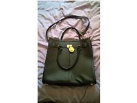 smart black handbag