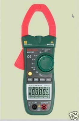 Mastec Ms2138 Ac Dc Clamp Meter Current Voltage Ampere