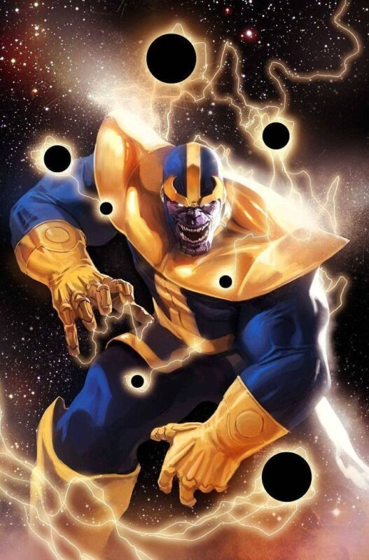 Thanos Son of Titan poster 24 x 36 inches new never prev displayed BRAND NEW