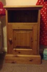 Bedside Wooden Cabinet