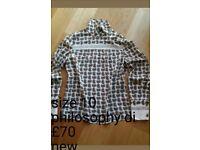Various cloth top shirt dress coat jacket