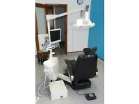 A Takara Belmont BEL7 Dental Chair