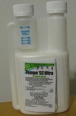 TEMPO SC ULTRA 240 ML/8 OZ INSECTICIDE PEST CONTROL SPIDERS PESTICIDE BUGS
