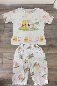 2 piece Winnie the Pooh pyjama set.