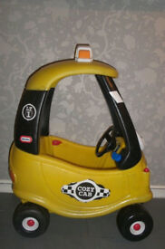 £20.00 LITTLE TIKES COZY COUPE CAB (USED) (VGC) £20.00