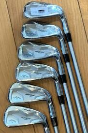 BRAND NEW SET OF CALLAWAY APEX PRO 19 IRONS 5-PW