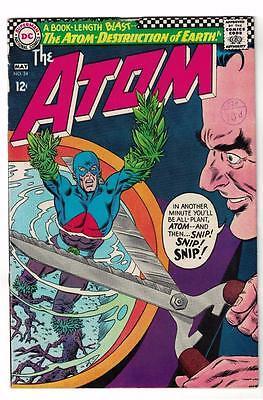 DC Comic ATOM Silver age  #24 FN  superman 1966