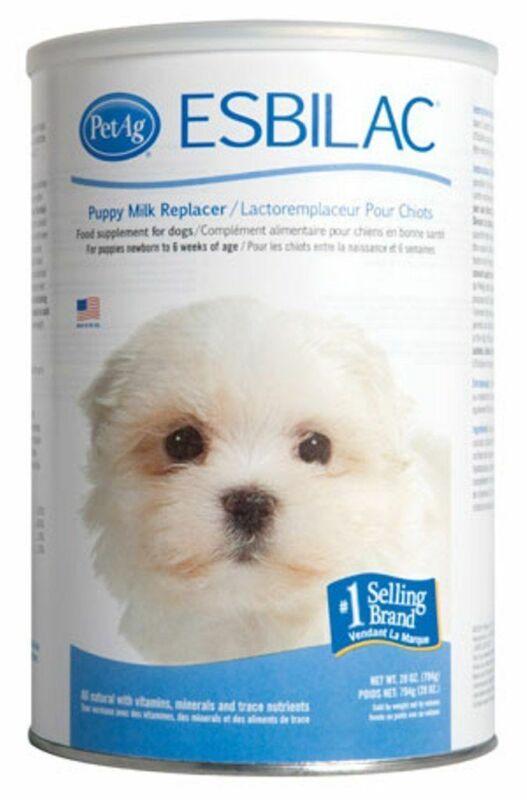 ESBILAC Milk Replacer Dog Puppy Powder 28 oz Vitamins Minerals