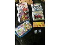 Pokemon ds lite with protective case
