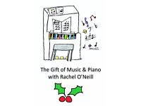 The Gift of Piano & Music with Rachel O'Neill