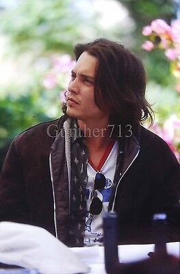 JOHNNY DEPP 35MM SLIDE ORIGINAL COLOR TRANSPARENCY #686