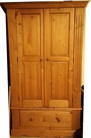 Beautiful solid pine wardrobe for sale