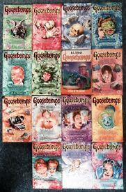 15 Goosebumps Books by R.L. Stine