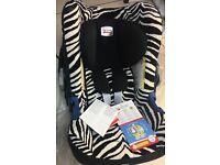 Britax Babysafe Plus SHR II Car Seat In Smart Zebra no base