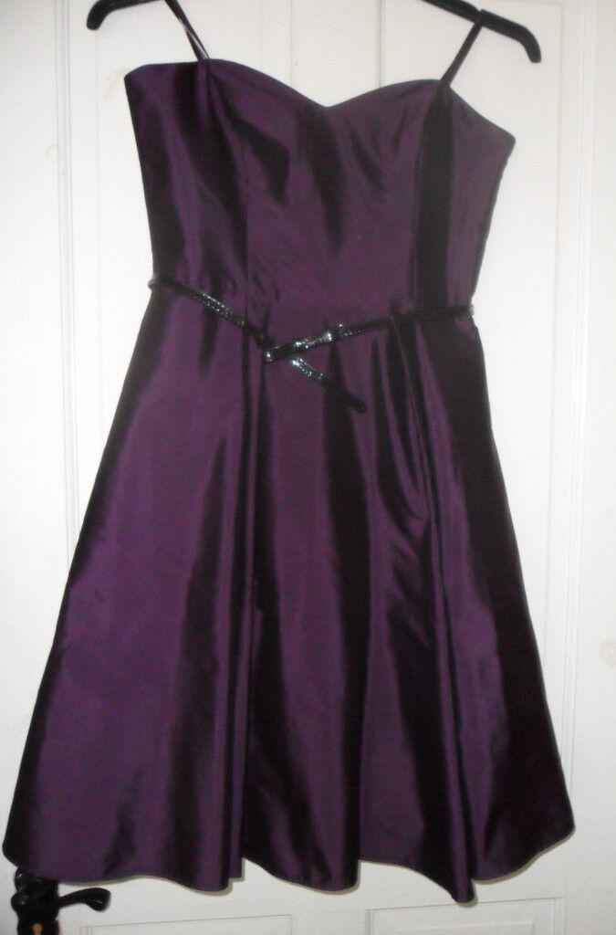 new deep purple aubergine bridesmaid formal dress wedding guest | in ...