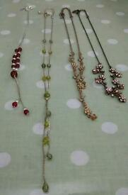 4 beautiful necklaces