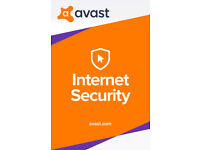 AVAST Internet Security Antivirus 2018 (Licence for 10 years)