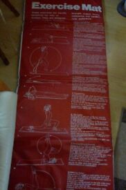 Exercise Mat and Weights
