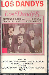 LOS-DANDYS-VOL-2-RELEASE-1987-NEW-SEALED-CASSETTE