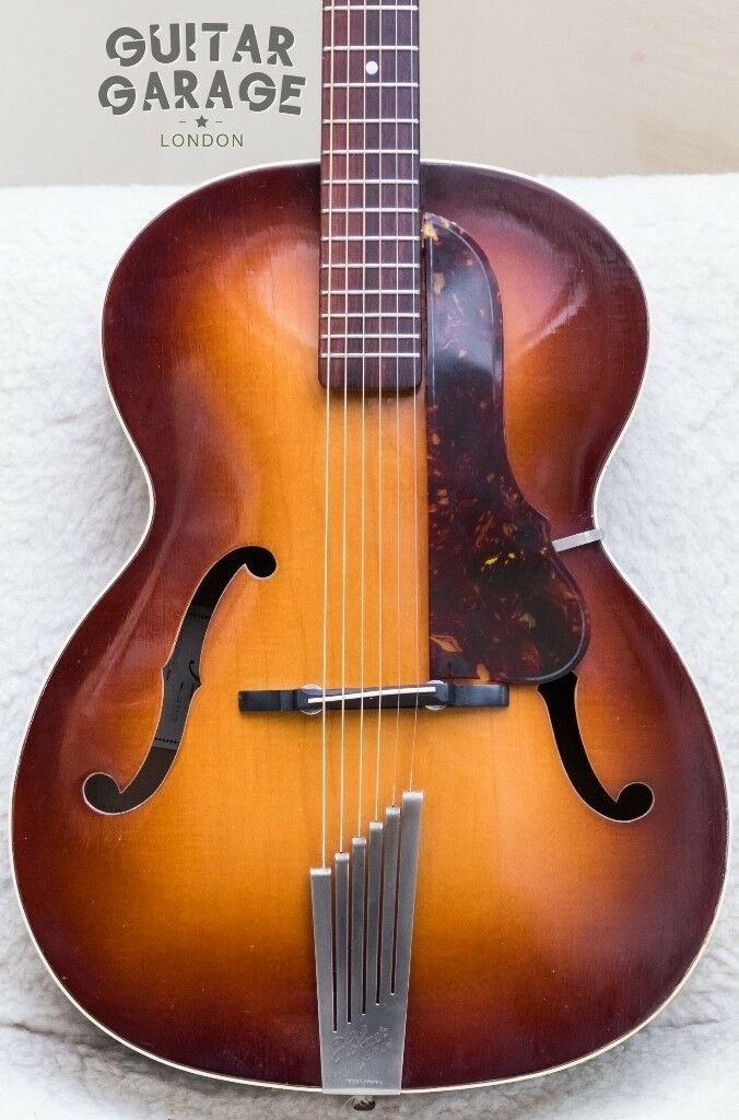 1963 hofner congress archtop vintage maple acoustic guitar all original can post in. Black Bedroom Furniture Sets. Home Design Ideas
