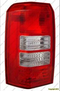 Tail Light Driver Side 2 Hole High Quality Jeep Patriot 2008-2017