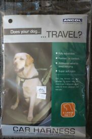 Dog car harness, dog seatbelt, pet travel harness
