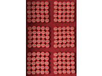 150 x Vintage Collectible Tobacco Tins / Unique/ Novelty wedding favours + Halfpennies x 150