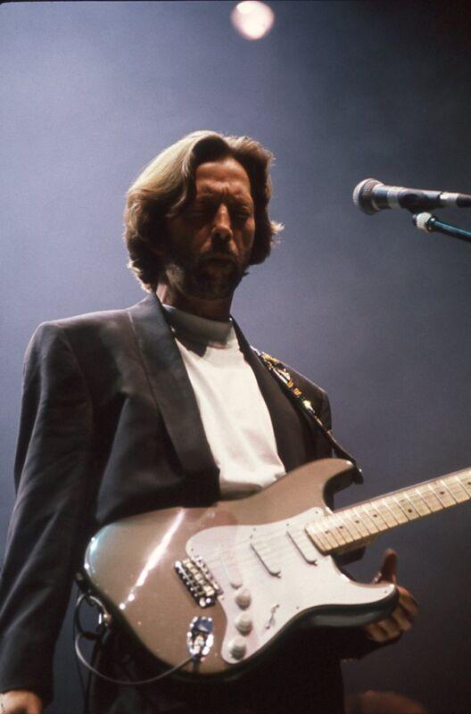 Eric Clapton, Vintage, Never Printed!!  Original 35mm color film