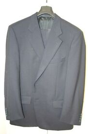 Two Piece Navy Suit