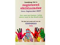 Looking for a childminder