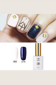 New 2 Pieces RS Gel Nail Polish 002_219 UV LED Summer Sunshine Soak Off 15ml