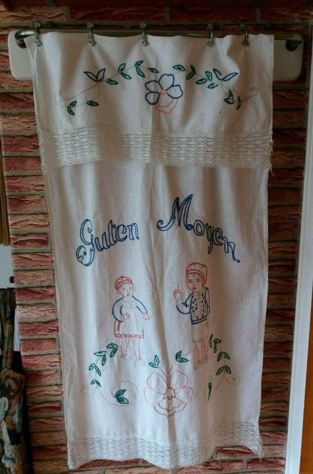 Handtuchhalter Küche 50er 60er antik Besenhalter für einenVorhang